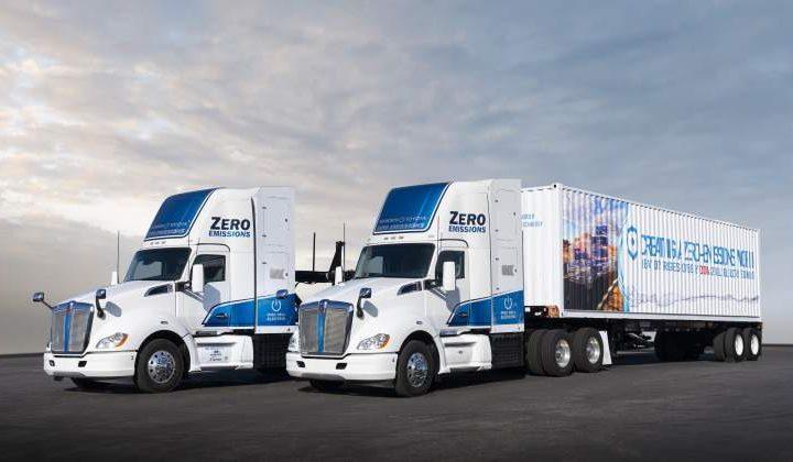 Toyota Develops Prototypes Of Hydrogen Trucks With 480 Kilometers of Autonomy