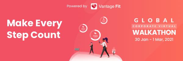 Vantage Circle organizes Virtual Walkathon to promote Corporate Employee Health