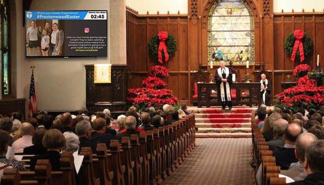 6 Ways To Modernize Your Church Communication With Digital Signage